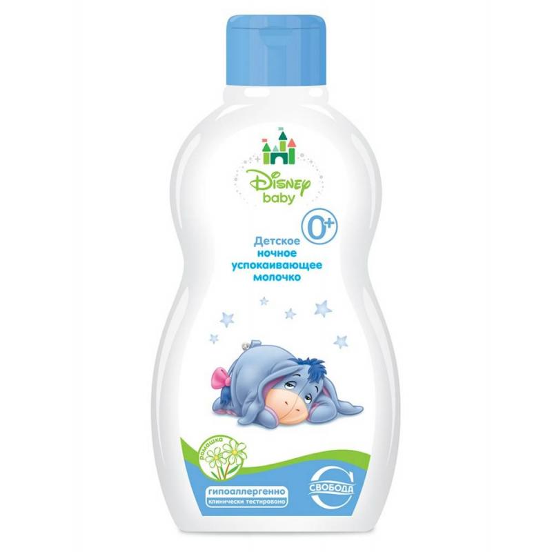 Детское ночное успокаивающее молочко Disney Baby, 250 мл от Nils