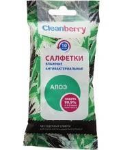 Салфетки влажные антибактериальные Алоэ 10 шт