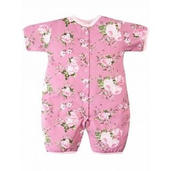 Малыши, Комбинезон Веселый малыш (розовый)290075, фото