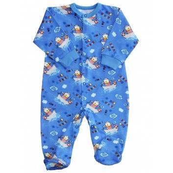 Малыши, Комбинезон Веселый малыш (синий)289822, фото
