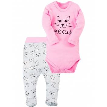 Малыши, Комплект 2 предмета Веселый малыш (розовый)290212, фото