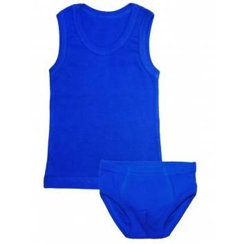 Мальчики, Комплект 2 предмета Веселый малыш (синий)289733, фото