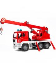 Пожарная машина-автокран MAN с модулем со звуковым и световым эффектом