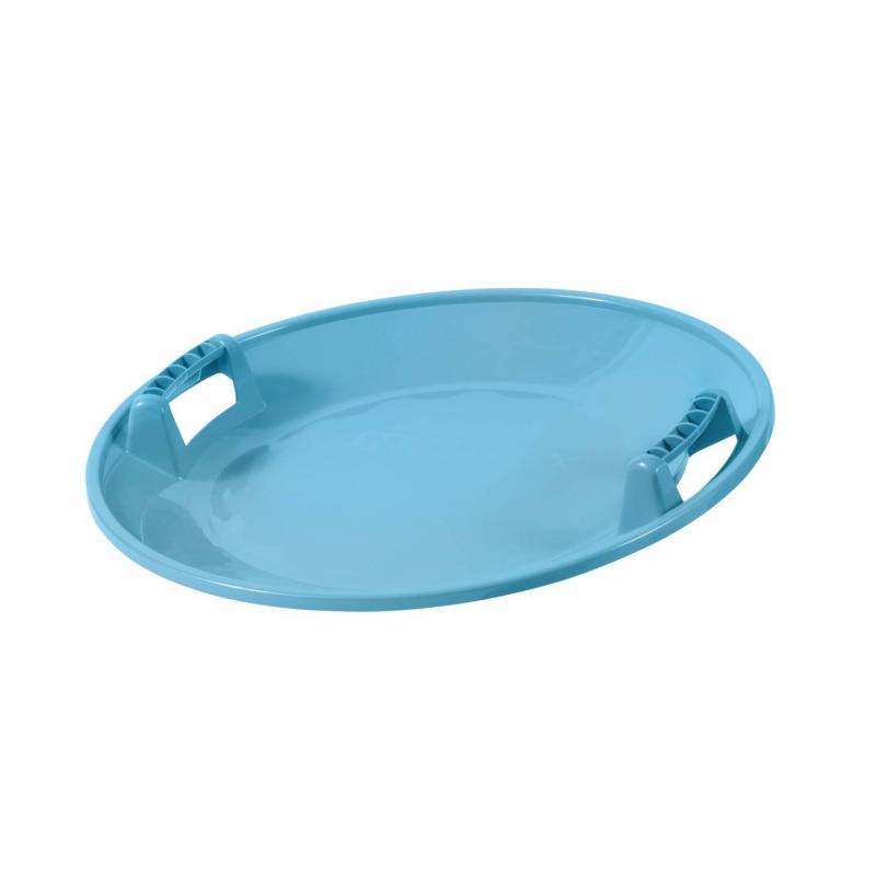 Санки-тарелкаСанки-тарелка голубогоцвета маркиOrthex.Главной особенностью этой модели является возможность раскручиваться вокруг своей оси во время спуска, развивая головокружительную скорость. Помимо этого санки отличаются прочностью, маневренностью, долговечностью, морозоустойчивостью, а также легкой управляемостью и ярким дизайном.Размеры: длина - 65см,ширина - 65см,высота - 17см.Вес: 0,950 кг.Средний срок службы при интенсивном использовании составляет 10 лет.<br><br>Цвет: Голубой<br>Возраст от: 6 лет<br>Пол: Не указан<br>Артикул: 632988<br>Страна производитель: Финляндия<br>Сезон: Осень/Зима<br>Бренд: Финляндия<br>Вес: 1 кг.<br>Размер: от 6 лет<br>Материал: Морозостойкий ударопрочный полиэтилен