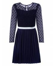 Платье Дженнифер-плиссе UNONA D'ART