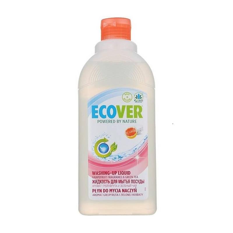 Жидкость для мытья посуды с грейпфрутом и зеленым чаем 500 мл (Ecover)