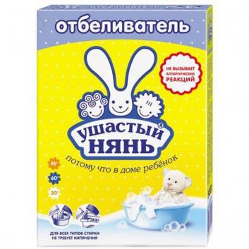 Гигиена, Отбеливатель для детского белья 500 г Ушастый нянь 628551, фото