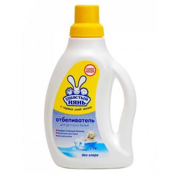 Гигиена, Отбеливатель для детского белья 750 мл Ушастый нянь 628552, фото