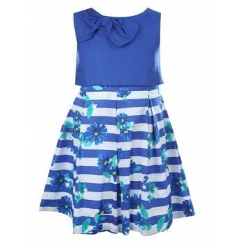 Девочки, Платье MAYORAL (синий)286220, фото