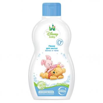 Пенка для мытья волос и тела с ромашкой Disney Вaby, 250 мл