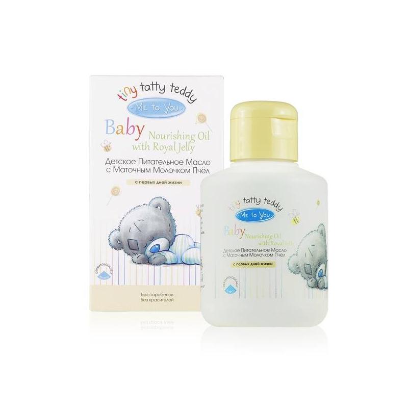 Масло питательное 150 млМасло питательноесматочным молочком пчелмаркиMe to You Baby 150 мл.Масло, которое можно смягчает, увлажняет и питает кожу. Масло быстро впитывается и не оставляет следов на одежде.При производстве масла не используются консерванты и парабены.Маточное молочко, входящее в состав масла, содержит уникальные кислоты, витамины, макро- и микроэлементы, которые оказывают регенерирующее и укрепляющее воздействие на кожу ребенка.<br><br>Возраст от: 0 месяцев<br>Пол: Не указан<br>Артикул: 628124<br>Бренд: Италия<br>Размер: от 0 месяцев