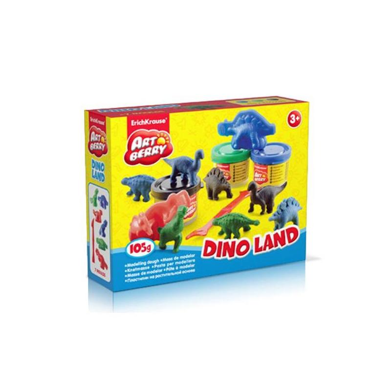 Пластилин Artberry Dino Land от Nils