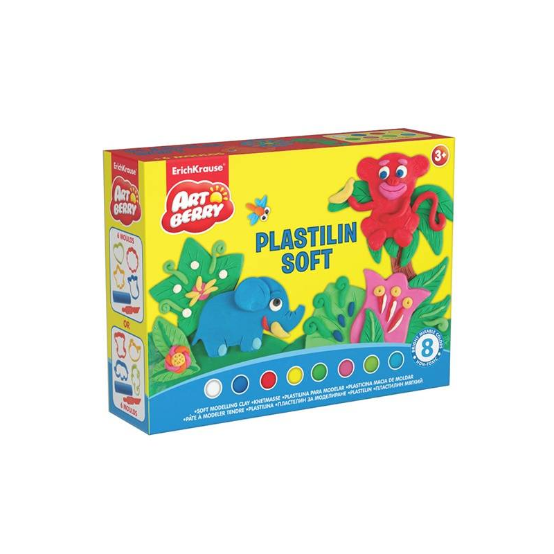 Пластилин Artberry Plastilin Soft