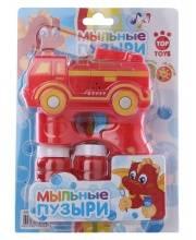 Мыльные Пузыри Пожарная Машина со светом и звуком