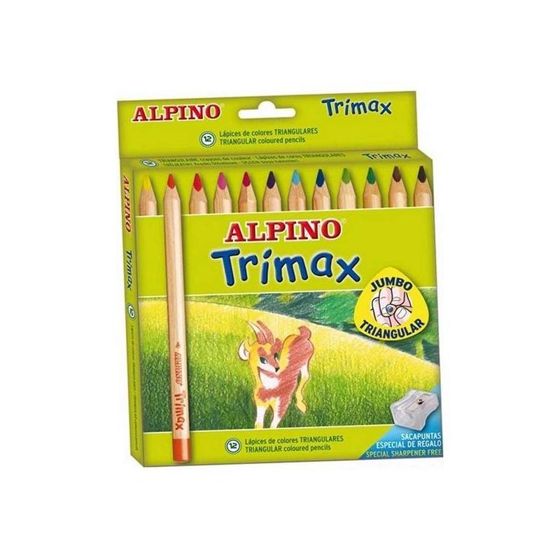 Alpino Цветные карандаши 12 цветов alpino 12 цветов alpino альпино