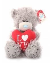 Мишка Тедди 13 См с Сердцем