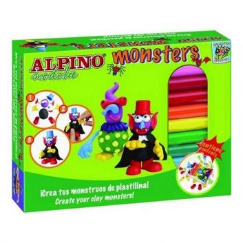 Пластилин Monsters Ужастики 12 цветов