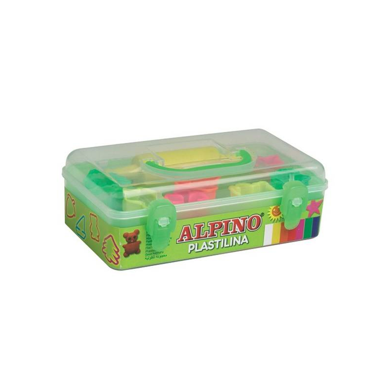 Пластилин c формами и скалкой для лепки 7 цветов Пластилин c формами и скалкой для лепки 7 цветов