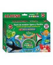 Пластилин Морской мир 6 цветов Alpino