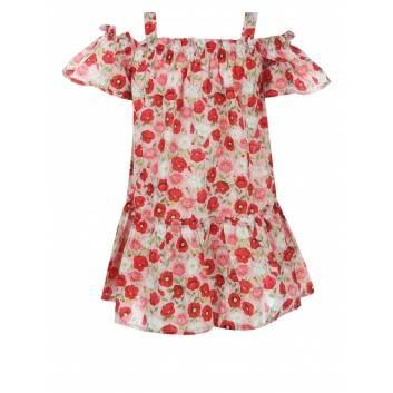 Девочки, Платье MAYORAL (красный)285012, фото