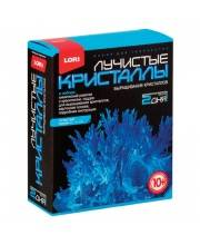 Набор для изготовления лучистых кристаллов Синий кристалл Lori