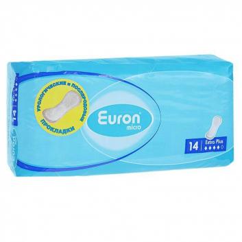 Послеродовые  и урологические прокладки Micro Extra Plus 14 шт