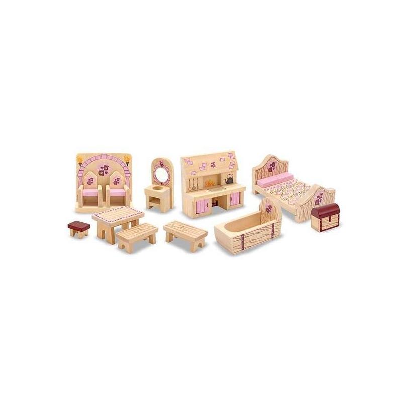 Набор мебели для замка принцессы от Nils