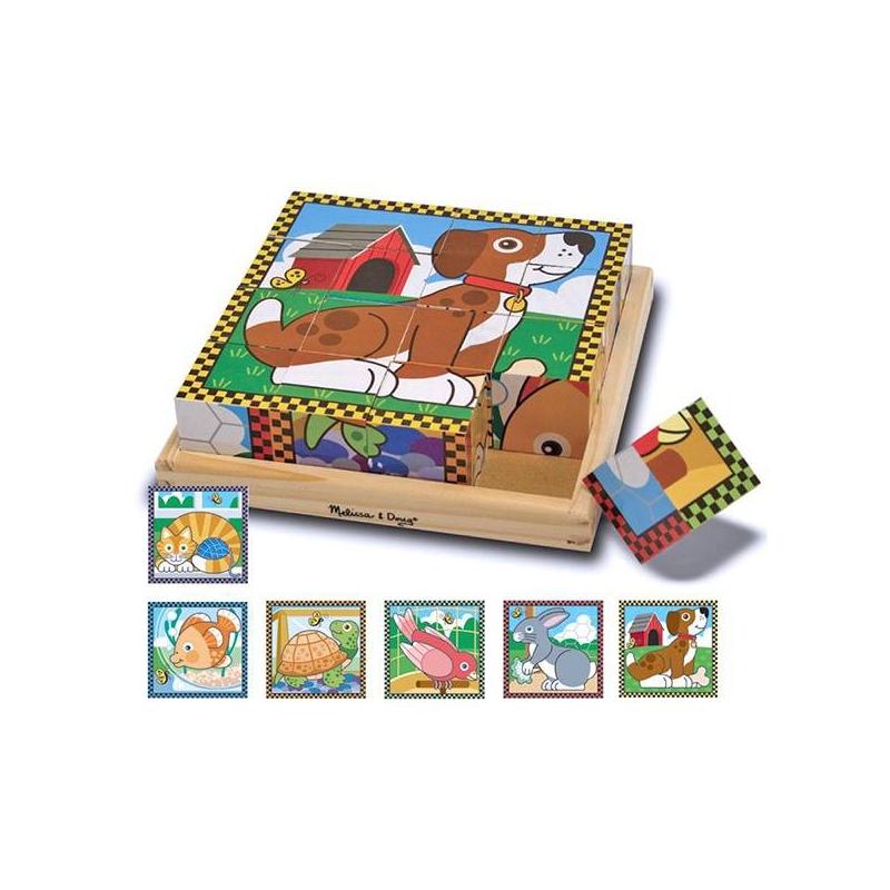 Кубики Домашние животные от Nils