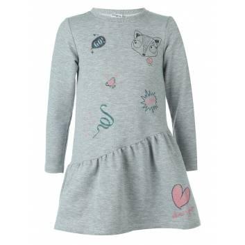Девочки, Платье Viva Baby (серый)260308, фото