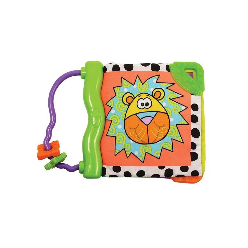 Playgro Игрушка Смешной Зоопарк игрушка развивающая игрушка playgro мягкая книжка 0101146