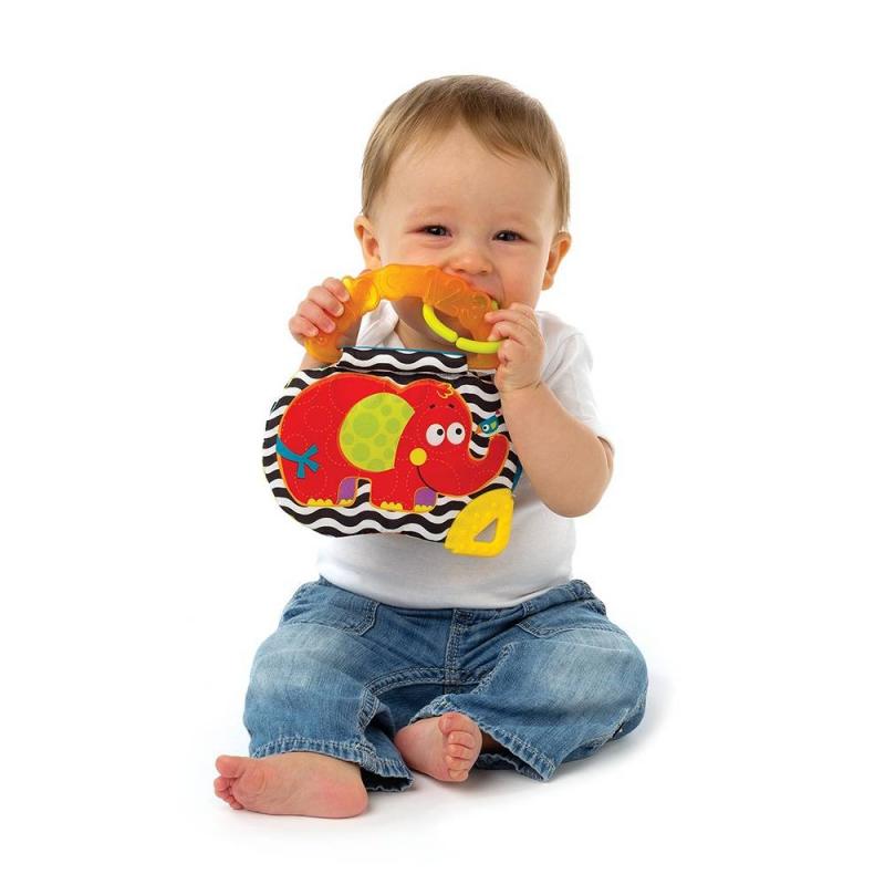 Книжка-игрушка Слоник от Nils