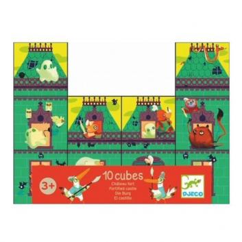 Игрушки, Набор кубиков Рыцарский замок Djeco 634680, фото