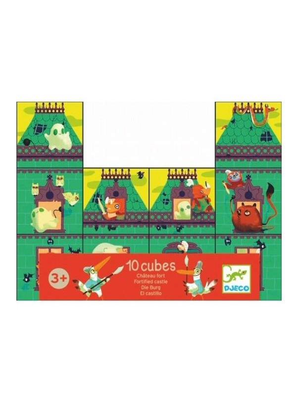 Набор кубиков Рыцарский замок Djeco