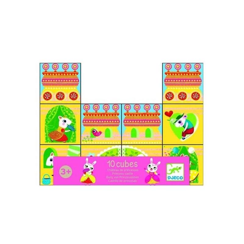 Набор кубиков Замок принцессыНабор кубиков Замок принцессы марки Djeco.Этот набор кубиков обязательно понравится девочкам от 3 лет. Ведь с помощью этих кубиков можно построить множество разных вариаций волшебного замка. Все кубики очень яркие и красивые, с ними просто и интересно играть. Французская компания Djeco уже много лет производит развивающие игрушки специально для малышей. С помощью квалифицированных психологов и педиатров игрушки создаются такими, чтобы они нравились детям.С этим наборомваша дочка будет весело проводить время, возводя всевозможные замки. Вы можете поиграть вместе и придумать множество интересных сказок об их обитателях. К тому же, играя с кубиками, ребенок будет развивать мелкую моторику, логику и фантазию.<br><br>Возраст от: 3 года<br>Пол: Для девочки<br>Артикул: 634681<br>Бренд: Франция<br>Размер: от 3 лет<br>Материал: Дерево