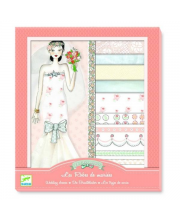 Аппликация Свадебные платья