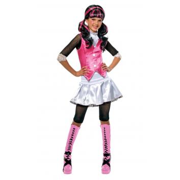 Девочки, Карнавальный костюм Дракулаура Rubies (розовый)632873, фото