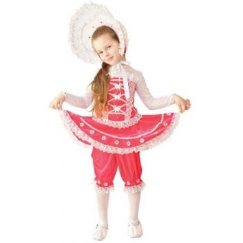Карнавальный костюм Кукла со шляпкой-капором