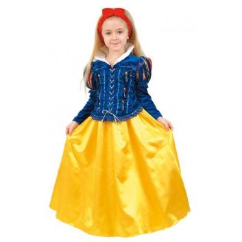 Девочки, Карнавальный костюм Принцесса гномов Витус (желтый)632802, фото