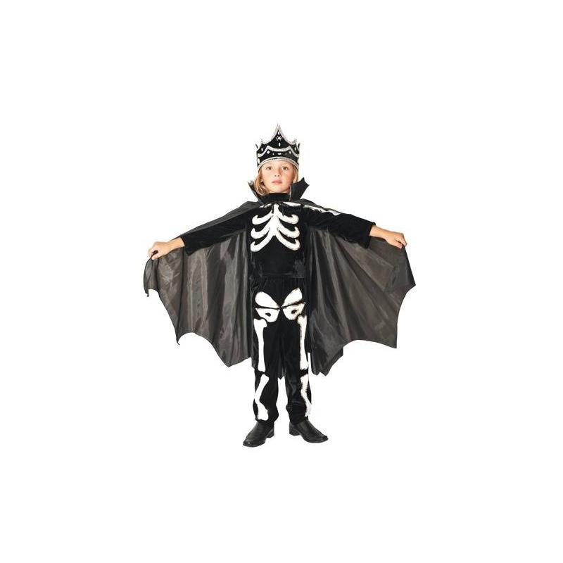 Карнавальный костюм Кощей БессмертныйКарнавальный костюм Кощей Бессмертный маркиВитус.Один из самых любимых праздников и детей, и взрослых является Новый год! В детских садах и школах традиционно проводятся утренники. Карнавальный костюм Кощей Бессмертный состоит из куртки, плаща, брюк и головного убора. На любом детском празднике ваш мальчик будет выглядеть ярко и оригинально.<br>Внимание! Обувь в комплект не входит.<br><br>Размер: 9 лет<br>Цвет: Черный<br>Рост: 134<br>Пол: Для мальчика<br>Артикул: 632808<br>Бренд: Белоруссия