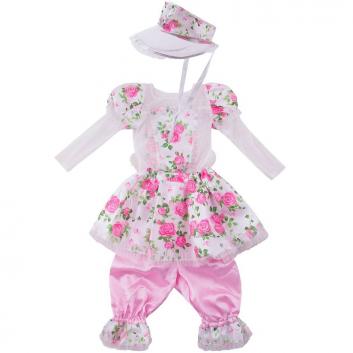 Девочки, Карнавальный костюм Кукла Роза Витус (розовый)632819, фото