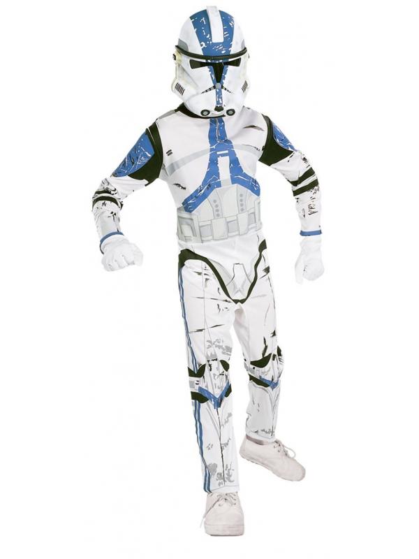 Карнавальный костюм Клон Трупер Rubies (белый)