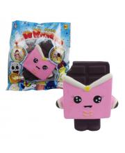 Игрушка-Антистресс мняшка Squishy Сквиши Шоколадка 1Toy