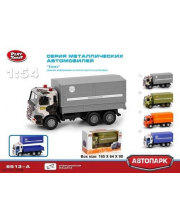 1:54 Инерционный металлический грузовик ОМОН Play Smart