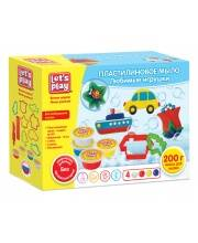 Набор для лепки Пластилиновое мыло Любимые игрушки РОСМЭН