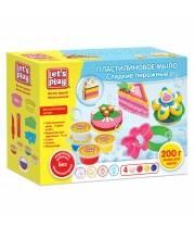 Набор для лепки Пластилиновое мыло Сладкие пирожные