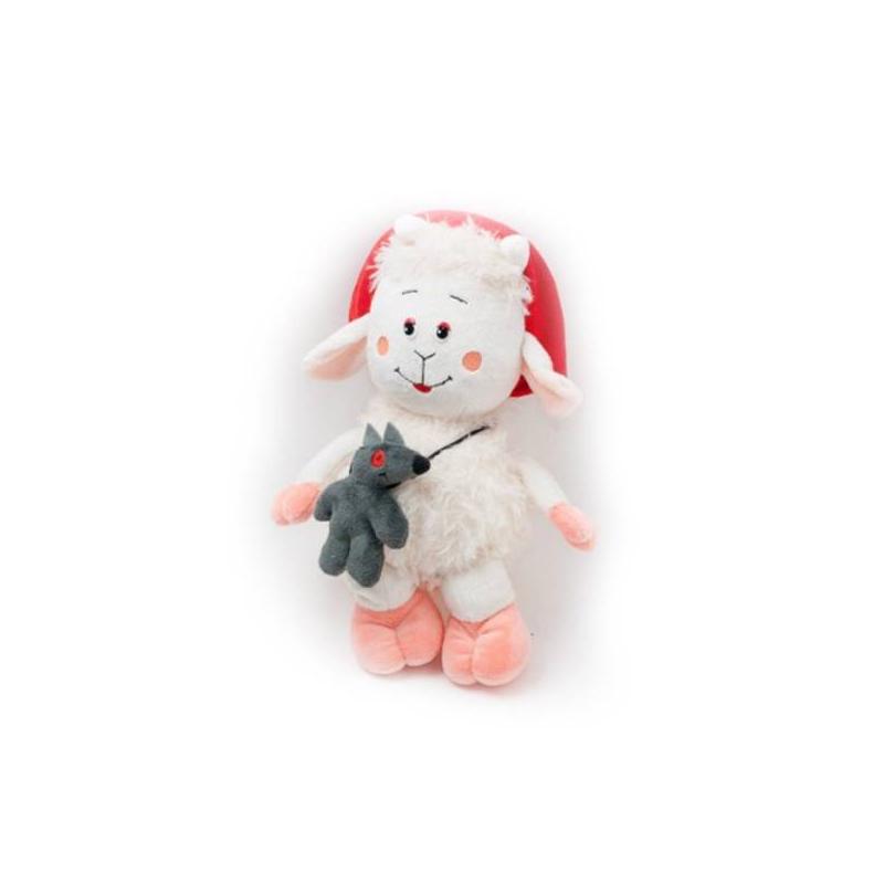 Овечка Красная шапочкаМягкая игрушкаОвечка Красная шапочка марки Fancy.<br>Красная шапочка и сумочка в виде волка делают овечку очень забавной. Яркие цвета привлекут внимание малыша. Игрушка развивает: воображение, мелкую моторику и тактильную чувствительность. Сшита из гипоаллергенных материалов. Можете быть спокойны за здоровье крохи. Важно знать, что игрушки этой торговой марки сделаны в соответствии с последними сертификатами качества Европы.<br><br>Возраст от: 3 года<br>Пол: Не указан<br>Артикул: 634521<br>Бренд: Россия<br>Страна производитель: Россия<br>Размер: от 3 лет