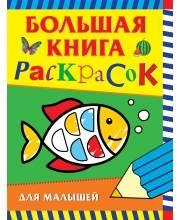 Большая книга раскрасок для малышей Котятова Н. И. РОСМЭН