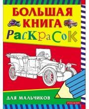 Большая книга раскрасок Исматуллаев Р. А., Медведева О. Н., Павлова К. А. РОСМЭН