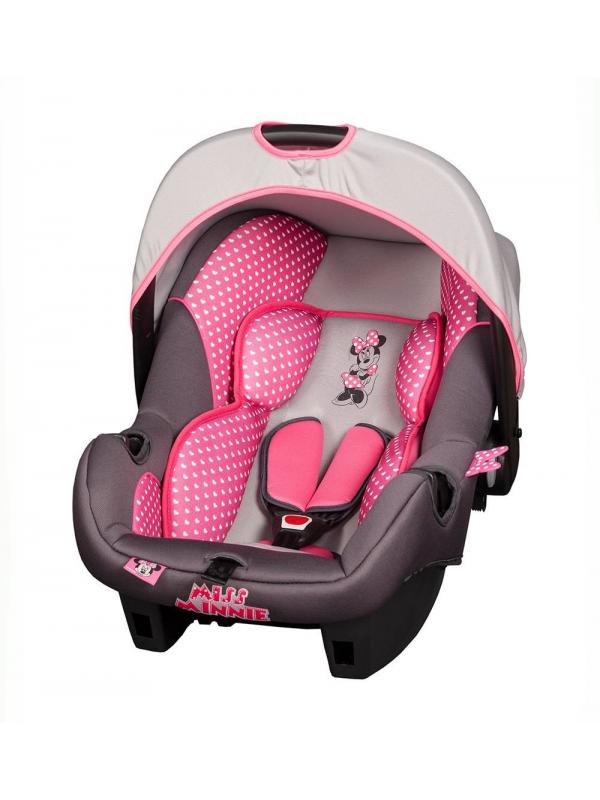 Автокресло Disney Beone SP Luxe (miss minnie) Nania (розовый)