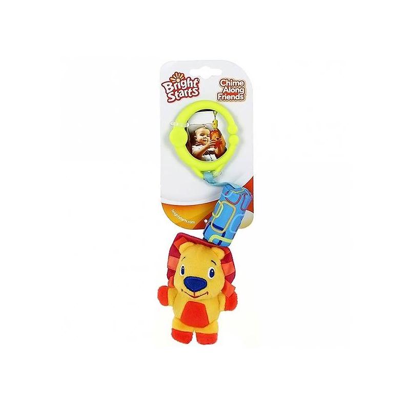 Bright Starts Подвеска Звонкий дружок Львенок игрушки подвески amico развивающая игрушка подвеска львенок